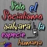 """"""" SÓLO EL SOCIALISMO SALVARÁ LA ESPECIE HUMANA """" #UnidosParaProducir.@NicolasMaduro @LaHojillaenTV @teleSURtv  https://t.co/lZ1Xl6H2Vu"""
