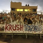 Krushing Kapaun in our togas #togaparty @CatchItKansas @VKeldridge @NWGRIZZLYFB https://t.co/KcFDrZJNFR
