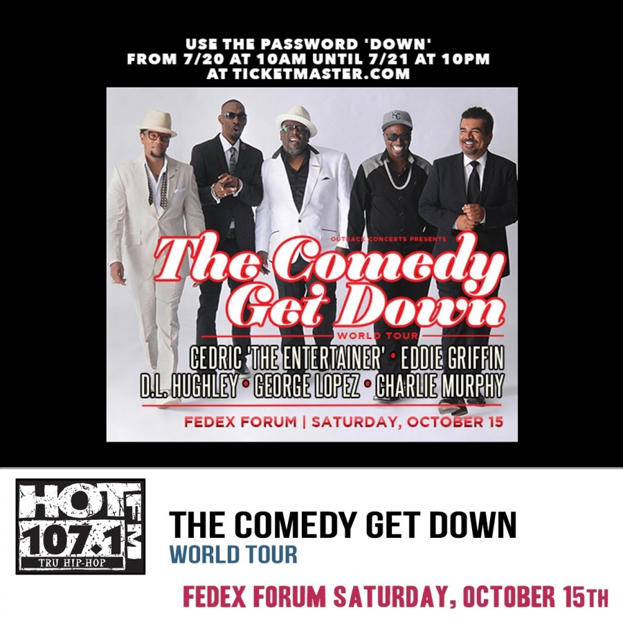 THE COMEDY GET DOWN World Tour @