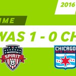 Halftime: #WAS 1 – 0 #CRS #WASvCHI 2016 #NWSL Playoffs https://t.co/1F0RqtHTdA
