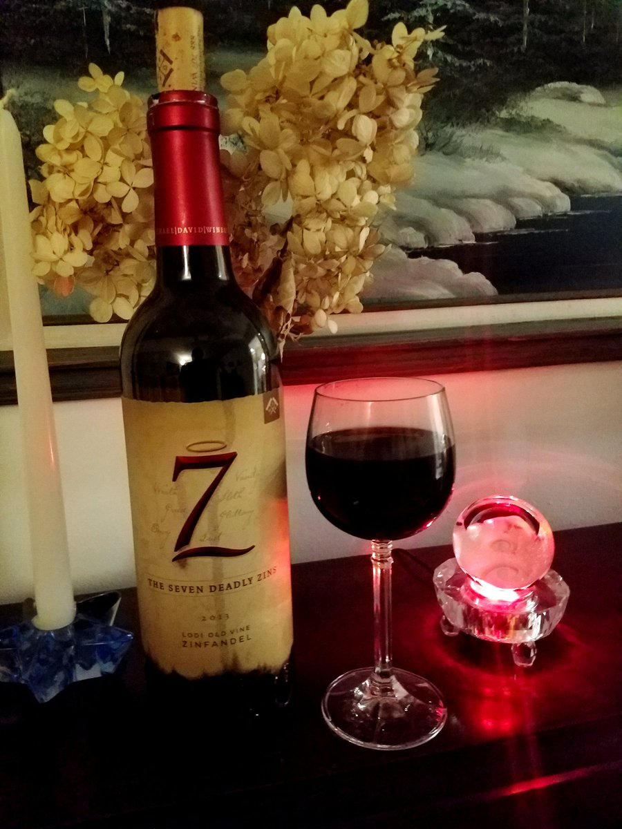 test Twitter Media - Cheers to all #winelovers around the world. Bottle of The Seven Deadly Zins from Michael/David #wine #wineselfies https://t.co/KjlH37dfCn