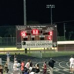 Won Homecoming, running clock started at the beginning of second quarter.. @SAHSJackets https://t.co/oBGaJc7VXE