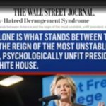 For only the second time in its history - the Wall Street Journal endorses a POTUS candidate: #HillaryClinton #ClintonKaine bc we are sane https://t.co/Z95DhxF935