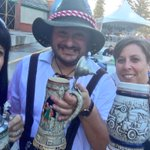 Its all about the steins! #Oktoberfestyql #yql #Prost https://t.co/e2AgtGhxWW