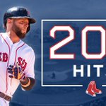 Tonight @15Lasershow collected his 200th hit of 2016!  Congrats, Pedey! 💯x2️⃣ https://t.co/6Chol2zftv