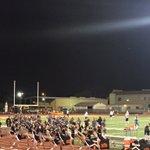 Roseville touchdown! Roseville cheer doing the TD kicks! #CB13 @Roseville_Cheer https://t.co/1r0RyIRzGe