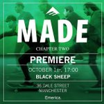 So this is happening today👀 @Emerica 🙌🏼 Kicks of at 5pm. #Manchester #Skateboarding #BlackSheepStore https://t.co/NjeVaPF7xN