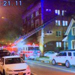Appears no life threatening injuries. Saw 3 ambulances with 2 victims being treated. #roc @TWCNewsROC https://t.co/bhHMEgZ9P7
