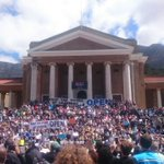 That awkward moment when SA whites make up 30% of the student body but 90% of the silent protest. The silent majority neh? #UCTOpen #OpenUCT https://t.co/TQwrNobn0z