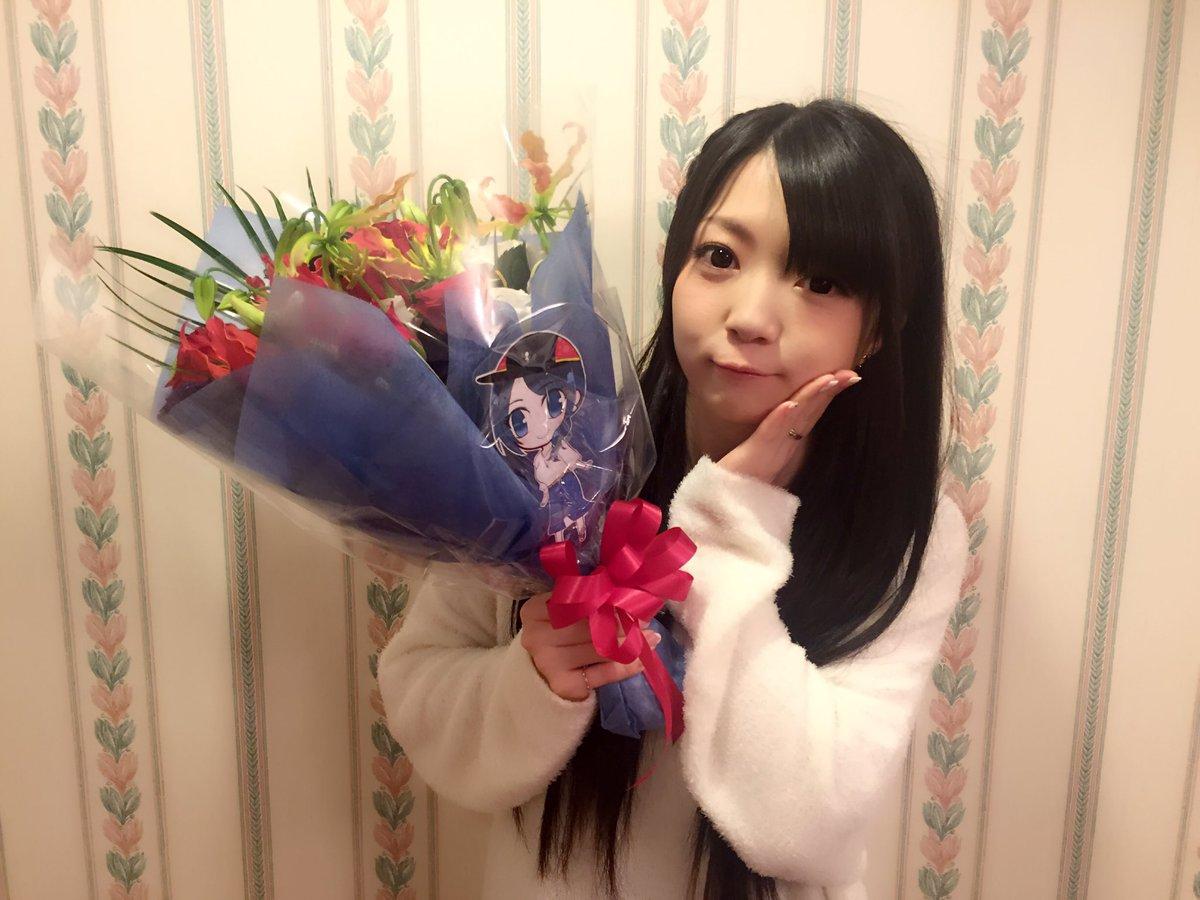 お花もありがとうございましたーっ!#ろんぐらいだぁす