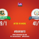 Afghanistan require another 239 runs with 9 wickets and 40.0 overs remaining. #BANvAFG https://t.co/Rl8B3QgVcO