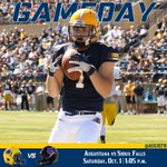Wake up @AugieFB fans. Its GAMEDAY! The Vikings will look to #KeepTheKey with the Key to the City Game against USF at 1 p.m.  #nsicfb https://t.co/TRz0VYQ0ii