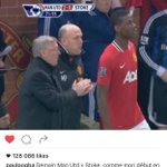 Paul Pogbas post on Instagram. His debut was vs Stoke City in 2012. #MUFC https://t.co/GhKAuK1EL7