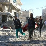 Barrel bombs hit largest hospital in rebel-held Aleppo: NGO