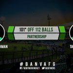 100 partnership comes up between Tamim and Sabbir #BANvAFG https://t.co/rVM3Fi7gCU