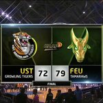 #UAAPSeason79 | FINAL: FEU 79, UST 72. https://t.co/YfLE6icueH
