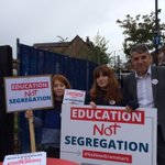 #educationnotsegregation in Withington #Manchester with @JeffSmithetc https://t.co/YOAag2paRR