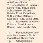 Work has now resumed on the following highways: #Highlights #NigeriaAt56 https://t.co/SPxbC3fJDH