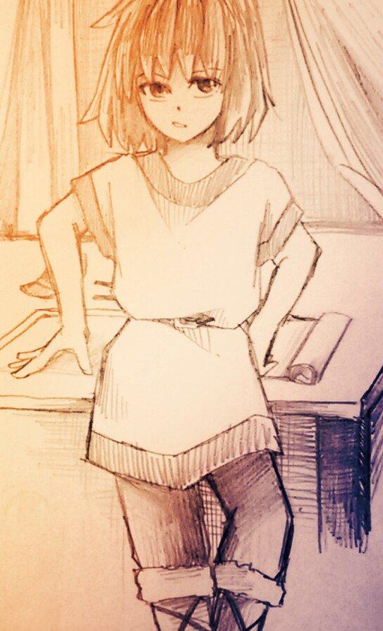 「...聞いてるのかい?ローニャ」#山賊の娘ローニャ