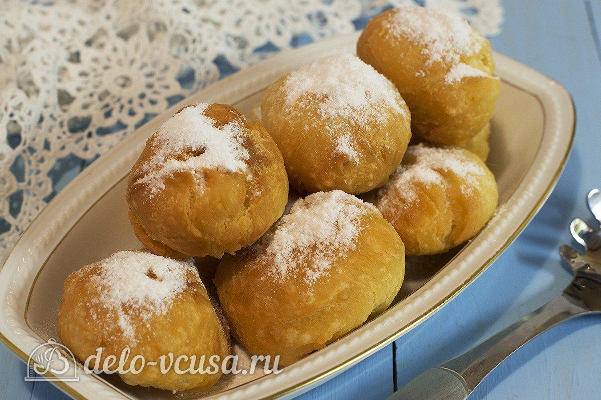 Творожные пышные пончики рецепт пошагово