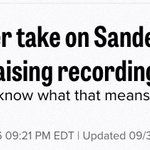 """SHE SAID THEY LIVE IN THEIR PARENTS BASEMENT. @Politico, thats """"giving her take""""? """"Insults""""/""""attacks"""" more appropriate, no? https://t.co/mMoY15kaGZ"""
