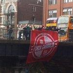 A few Nottingham Forest fans in Bristol today. #NFFC https://t.co/A1zee9jNco