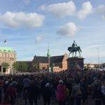 #SaveAleppo demo, Copenhagen https://t.co/nh6Yh62BdA