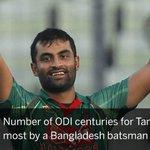 Tamim Iqbal century breaks Bangladesh record https://t.co/y6UA3tv3W4 https://t.co/M5RKlEYs93