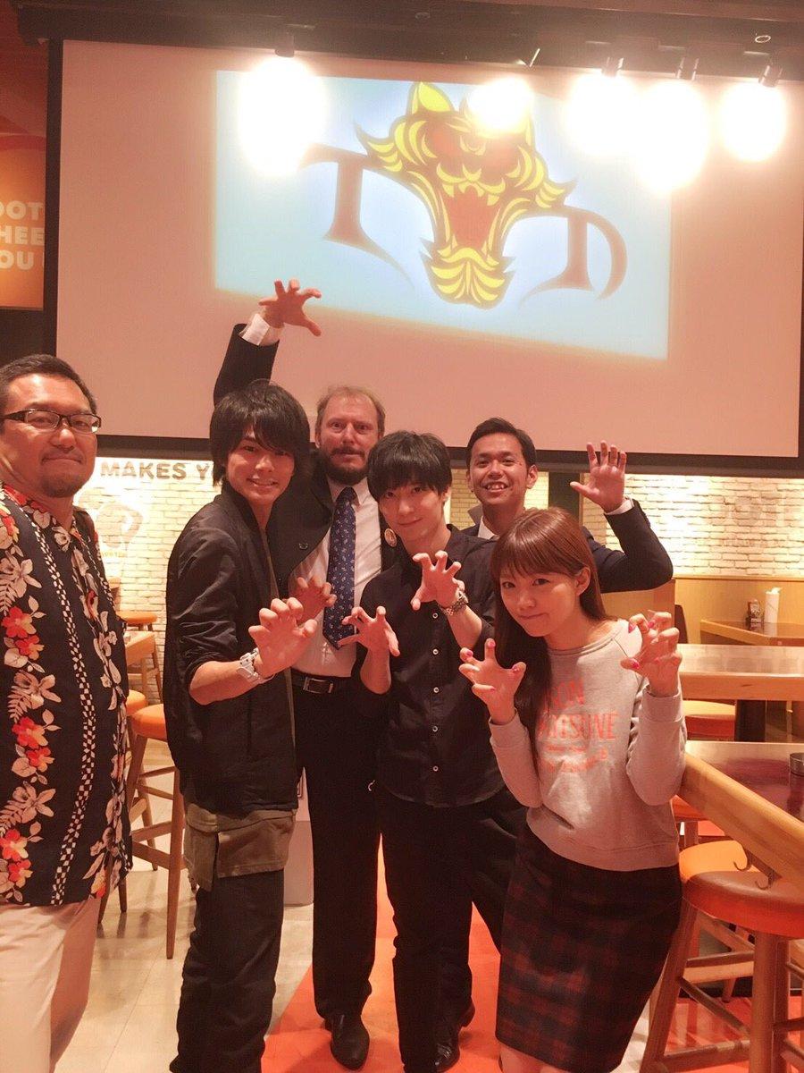 TVアニメ『タイガーマスクW』テレビ朝日系列にて、本日深夜2:45からです!そして本日、タイガーマスクW内入りもありまし