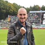 @caldiluca3 drückt heute am Bölle die Daumen für #Werder! #d98svw https://t.co/6yYKDdeUyt