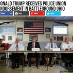 Trump Receives Police Union Endorsement in Battleground Ohio #TrumpPence16 #VoteTrump #AmericaFirst #MAGA https://t.co/ANDc9ZbAOi https://t.co/IxfgBaYBo9