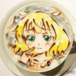 ラテアート【シャロ】@ご注文はうさぎですか?LatteArt【Is the order a rabbit??】本日10/