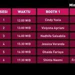 [INFO] Jadwal terbaru 2-shot JKT48 di Indonesia Comic Con : https://t.co/FQMYzZVFeA