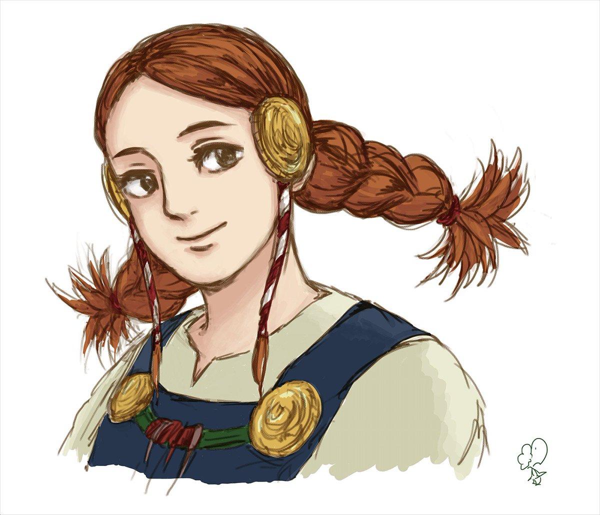 録画してた『山賊の娘ローニャ』見ました。とにかくロヴィスさんが可愛い。マッティスとロヴィスの出会いの話がめちゃくちゃ観た