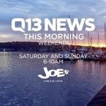 Gooooood Saturday Morning! #Q13FOX News is on #JOEtv now! With your headlines, weather & #Seattle sports! https://t.co/rsER8DYgY1