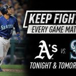 Safeco Field is the place to be tonight! Plenty of great seats still available. #GoMariners #KeepFighting https://t.co/XYKQ2ickhh
