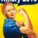 Sexism is loud & deplorably clear this election But OUR future is female @HillaryClinton is breaking glass ceilings 👊🏻 #HillarysArmy #AMJoy https://t.co/IJzeh1d8Z0