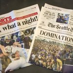 Two exclamation points for @UW_Football in the paper this morning: https://t.co/BVBMXlXyp4