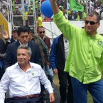 Presidente @MashiRafael participa de la #VConvenciónPAIS desde #Quito https://t.co/Mam2Ov4uie