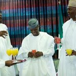 Pres Buhari, Osinbajo, Saraki, CJN Mahmud sip fruit juice to celebrate Independence day https://t.co/8assGHGcsE https://t.co/JhX7u7nKHw