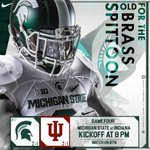 Tonight we battle Indiana for the Old Brass Spittoon! Its Gameday! #MSUIND #BeatIU https://t.co/bvfKzQI5ua