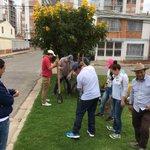 Como símbolo de paz y esperanza: @FernandoFlorezE, #CaminantesPorLaPaz y comunidad siembran árboles en el 15 de mayo https://t.co/0rfdhtFEbq