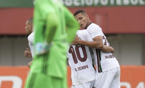 Fluminense 3x1 Sport
