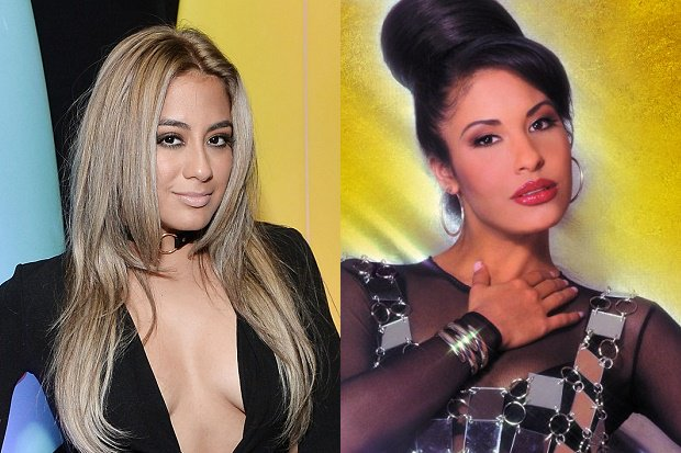 "Watch @FifthHarmony's @AllyBrooke cover @SelenaLaLeyenda's ""Como La Flor"" live: https://t.co/h0wk0Pu8sU https://t.co/D1r42Zdstw"