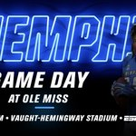 Game Day 🏈 Tigers vs Ole Miss 🌎 Oxford, Miss. ⏰ 6 pm 📻 Rock 103 FM 📺ESPN2 or WatchESPN https://t.co/mkSN5o1VAF https://t.co/K82mIIeYZe