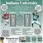 MSU football takes on Indiana at 8 p.m. Follow along with @thesnews_sports and check out out infographic https://t.co/p2W3mLZJcO