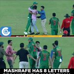 Bangladesh should be proud to have a captain like Mashrafe Bin Mortaza. #BANvAFG https://t.co/c2fpzH1wIW