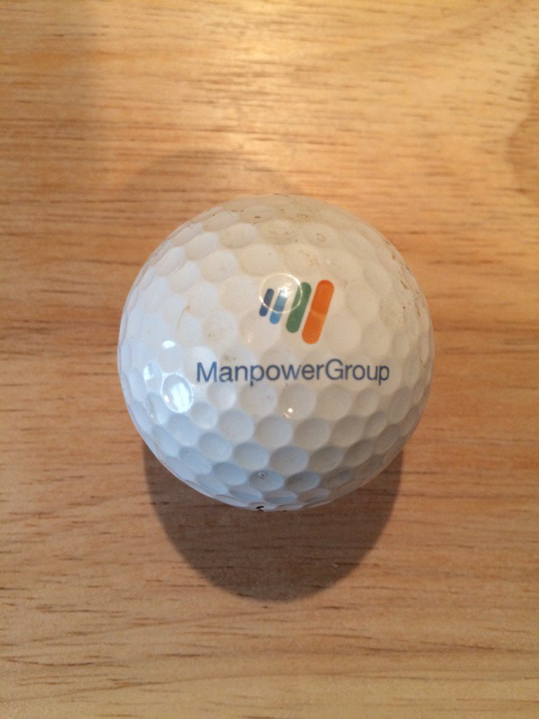 ⛳️ Logo Of The Day ⛳️ @manpower Added the Manpower Group #logo #golf ball to the collection! https://t.co/wnOQNrabZg