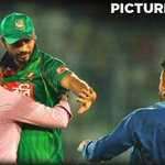 Picture of the day: Mashrafe Bin Mortaza hugs one of his die-hard fans on the field. #BANvAFG https://t.co/82EzyVH3Ww