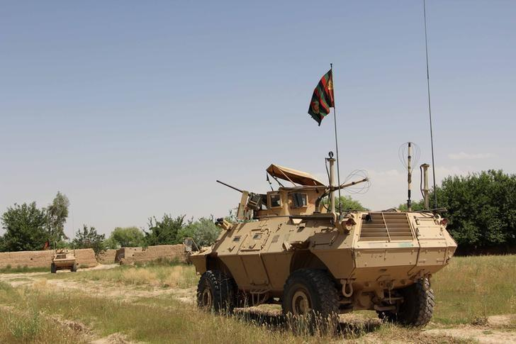Afghan Taliban fighters press advance on Helmand capital
